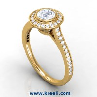 Diamond Engagement Rings For Women, Solitaire Ring For ...