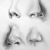 Ako kresliť nos