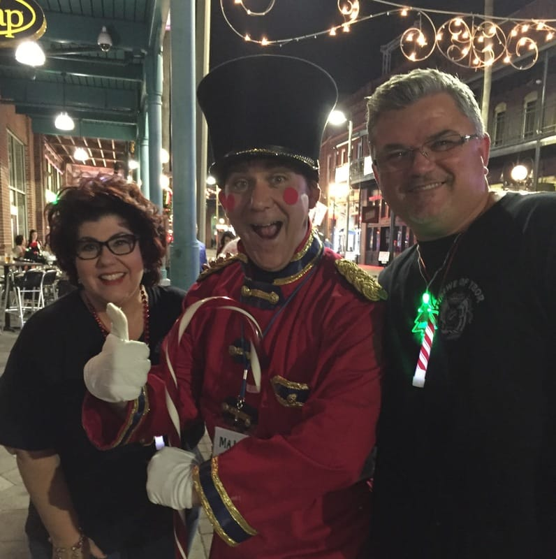Tree Lighting Ybor City Christmas 2016 - Krewe Of Ybor