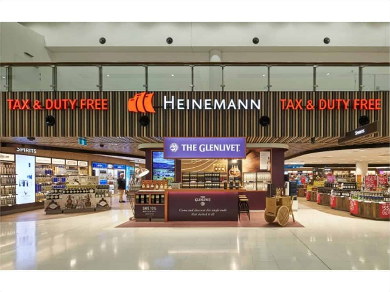 Sydney Airport Shops Duty Free Giant Opens Krgs Doors At Sydney Airport Krgsdoors