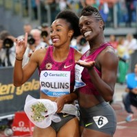 Barshim, Rollins, Spencer, Didaba Light up the Starry Athletic Night at Rome Diamond League