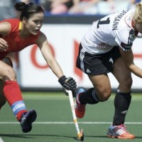 Highpoints of The Hague's Hockey Action On Day 2 of the 2014 Rabobank World Cup