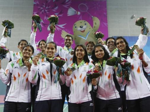 Asian Games Indian badminton team medal