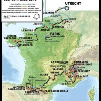 2015 Tour de France route cannot be described as a lap of the country