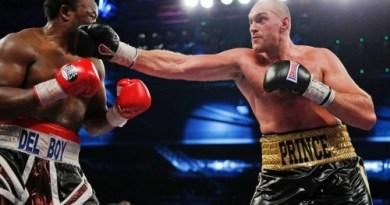 Tyson Fury now aims for Klitschko