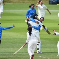 Indian Eves Thrash Their South African Counterparts in the Only Test Match Played at Mysore