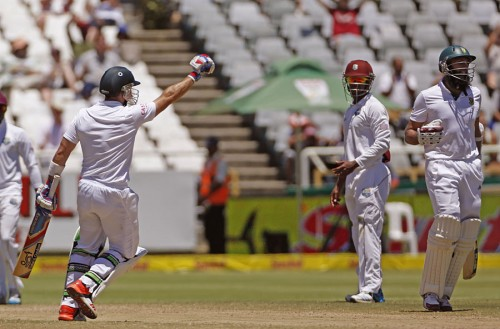 South Africa Beat West Indies by Eight Wickets to Win Series, Rein at Top in Tests