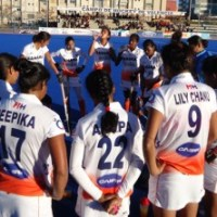 Indian Women's Valencia Hockey Tour Ends with an Icing on the Cake as They Beat Germany in the Last Game