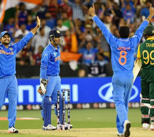 India Score First World Cup Win Over South Africa