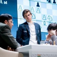 Anand Draws Again With Black, Carlsen Lone Winner On 2nd Day at Shamkir