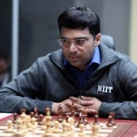 Anand Scores Second Victory in the 7th Round of 2015 Shamkir Chess Tournament