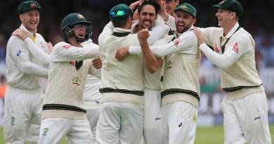 Ashes test series team Austrailia