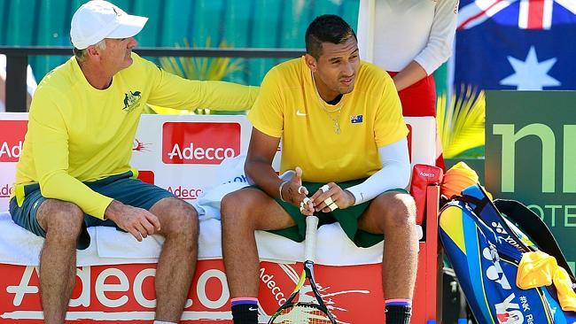 Davis Cup Match report