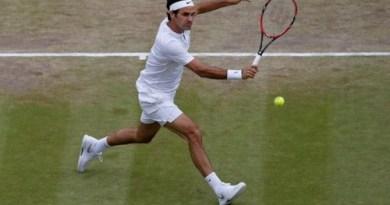 Federer in Wimbledon