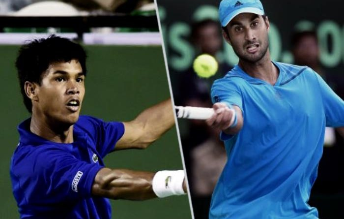 Indian tennis player davis cup