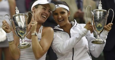 Sania Mirza Becomes First Indian Woman to Win Wimbledon