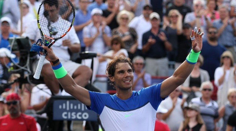 Rogers Cup Nadal match