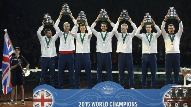 great britan davis cup team 2015