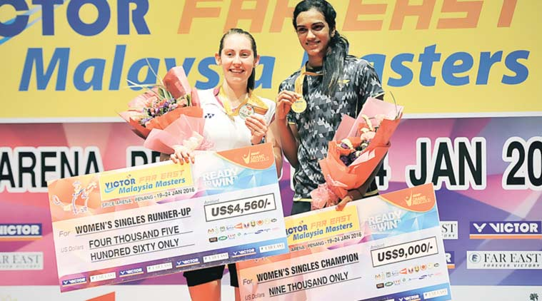 Lee Chong Wei and PV Sindhu Are Men & Women's Champions at 2016 Malaysia Masters