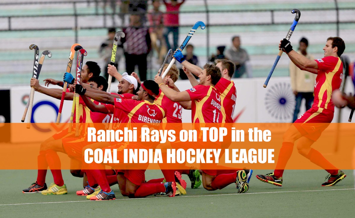 Ranchi Rays Sitting Pretty On Top in 2016 Coal India Hockey India League