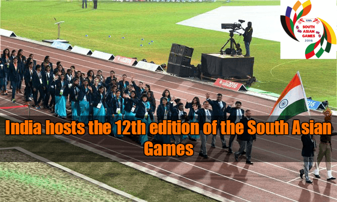 India hosts the 12th edition of the South Asian Games