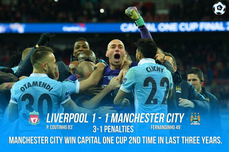 Manchester City and Liverpool