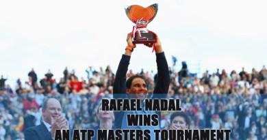 Rafael Nadal Wins an ATP Masters