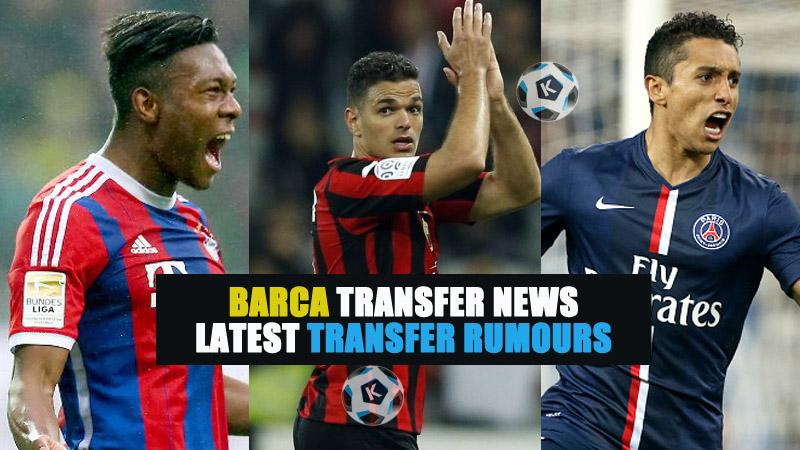 Barca transfer news: Latest transfer rumours