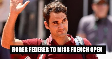 Roger Federer out of french open copy