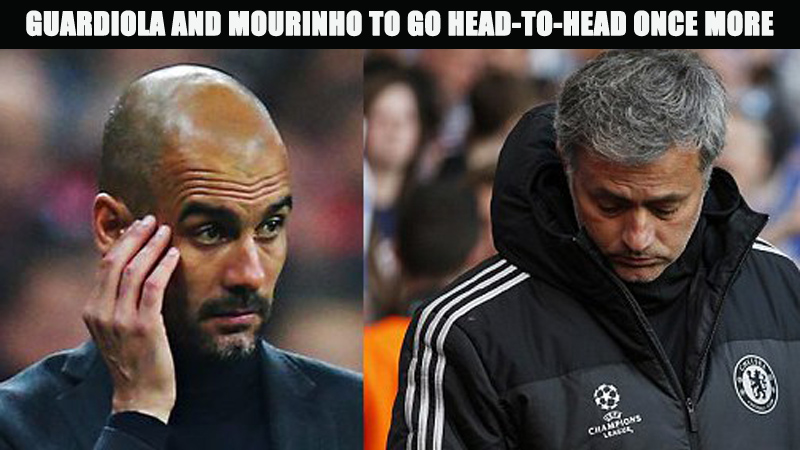 Guardiola and Mourinho to go Head-to-Head Once More