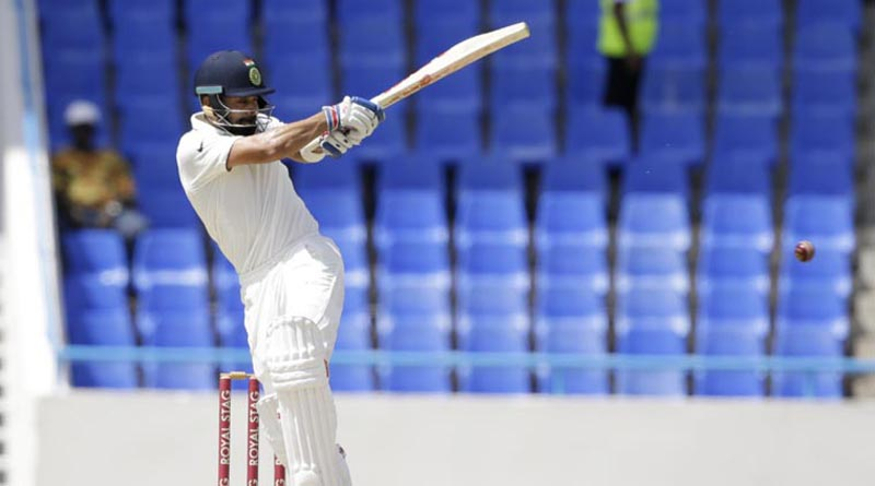 Kohli Leads from Front as India Amass a Mountain of Runs on Second Day at Antigua Test