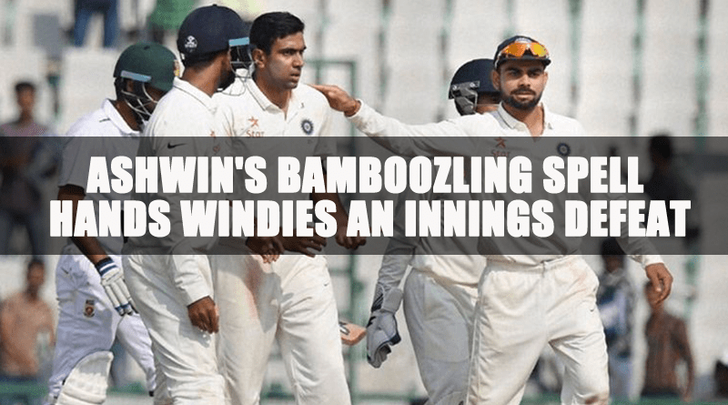 Windies an innings defeat