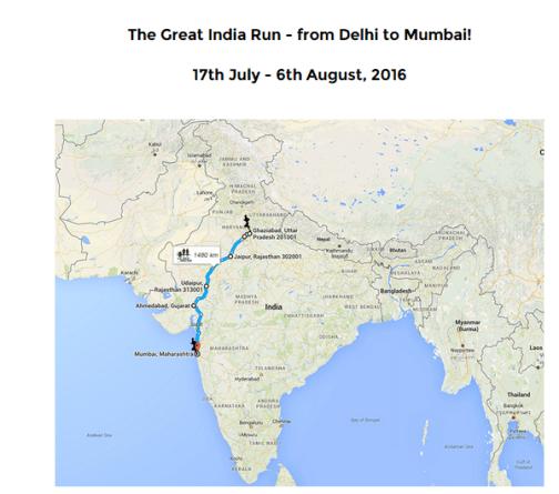 the great india run