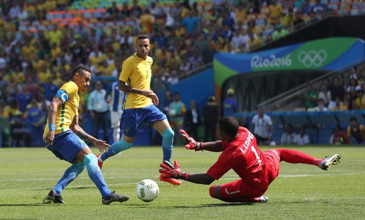 Dazzling Neymar Leads Brazil's 6-0 Rout of Honduras for Gold Clash