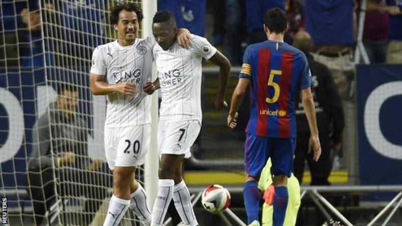 Barcelona vs Leicester City solna