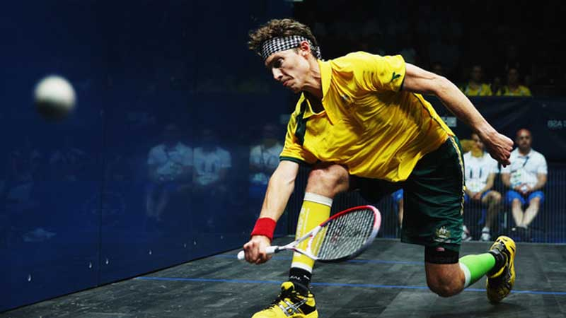 Cameron Pilley Shocks World No.1 Mohamed Elshorbagy in Hong Kong Squash