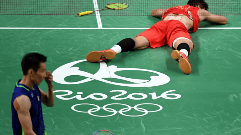 Chen Long defeats world No. 1 Lee Chong Wei to win badminton gold