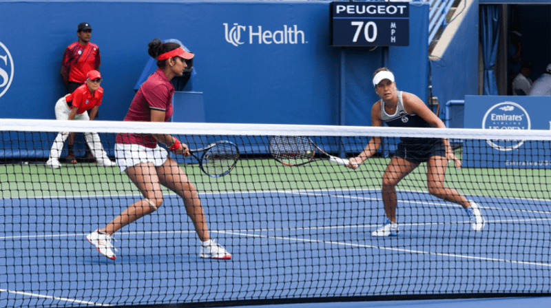 Cincinnati Masters: Sania- Strycova will play against Hingis -Vandeweghe in final