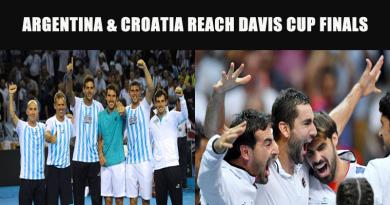 Argentina & Croatia Reach Davis Cup Finals
