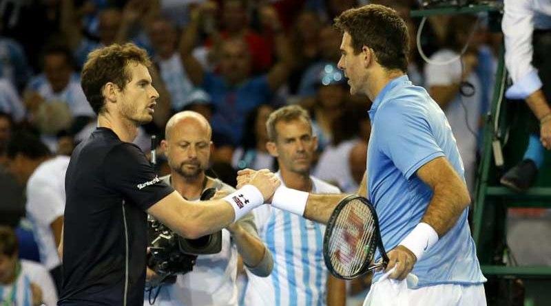 Juan Martin Del Potro, Andy Murray