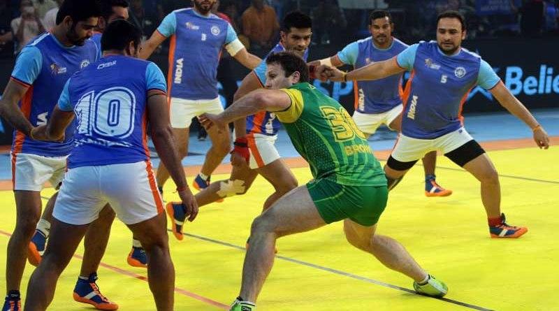 India score a resounding 54-20 win over Australia
