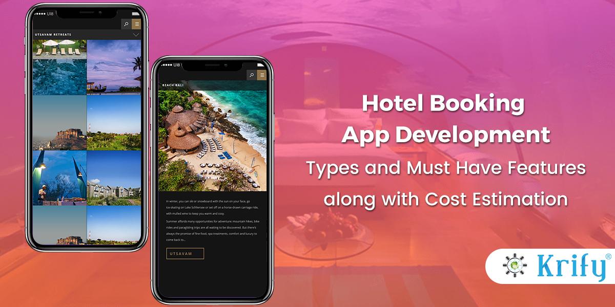 Hotel Booking App Development Company India Krify