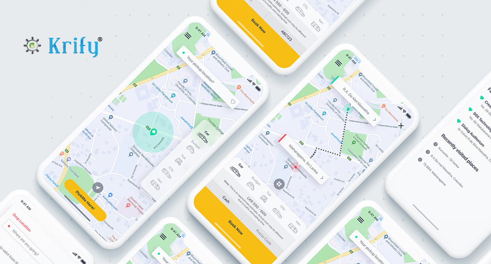 Develop Booking Similar App - Clone App Development Company Krify