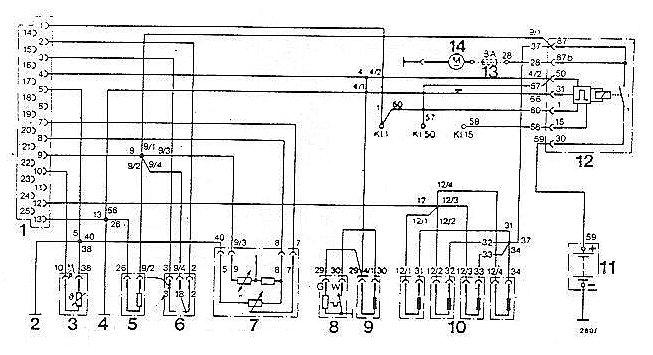 Opel Fuel Pump Wiring Diagram Wiring Diagram