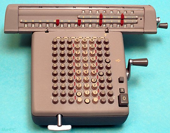 Mechanical calculators computing without electricity - LOW-TECH