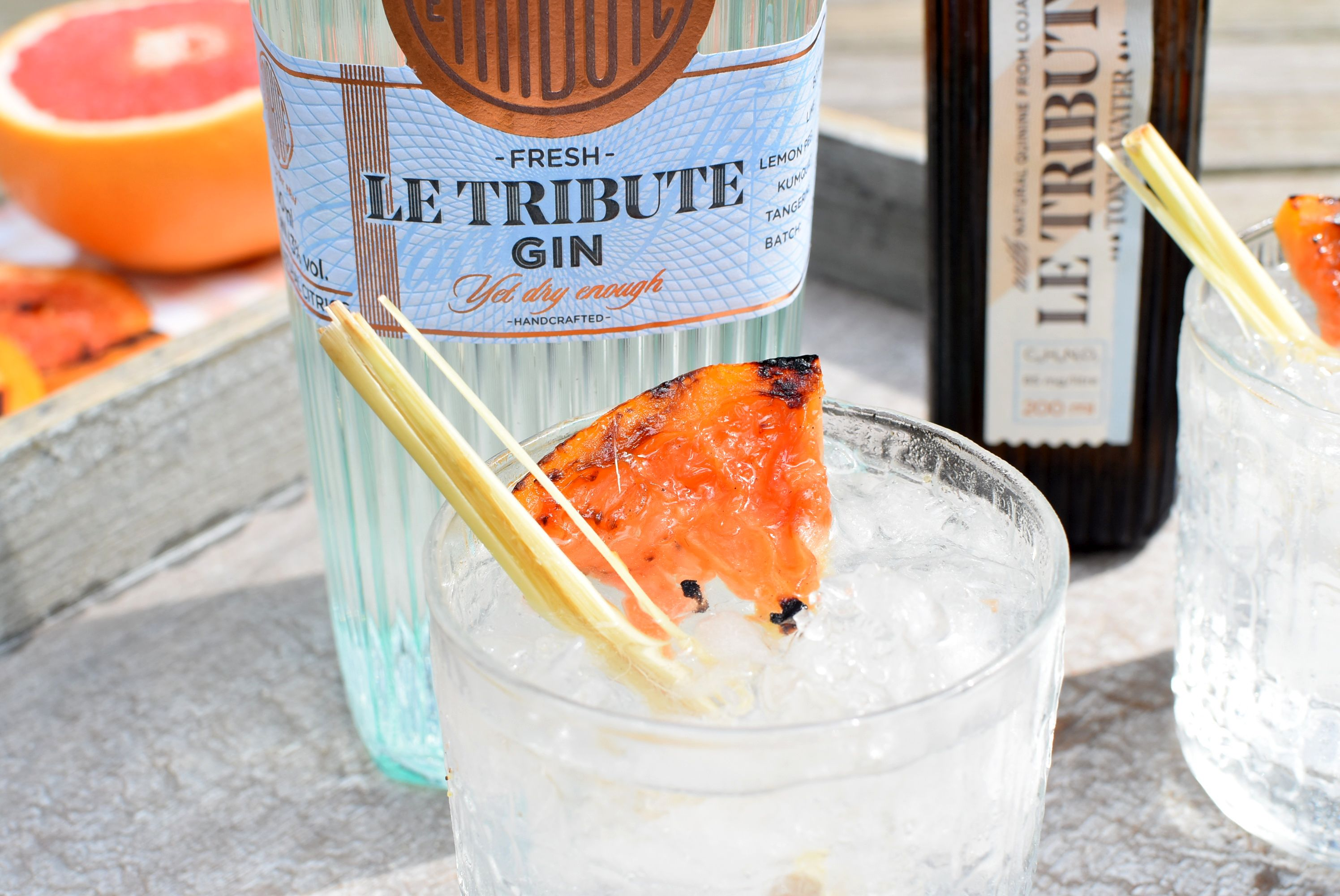 Soorten Tonic Le Tribute Gin Smokey Gin Tonic Cocktail Kriskookt