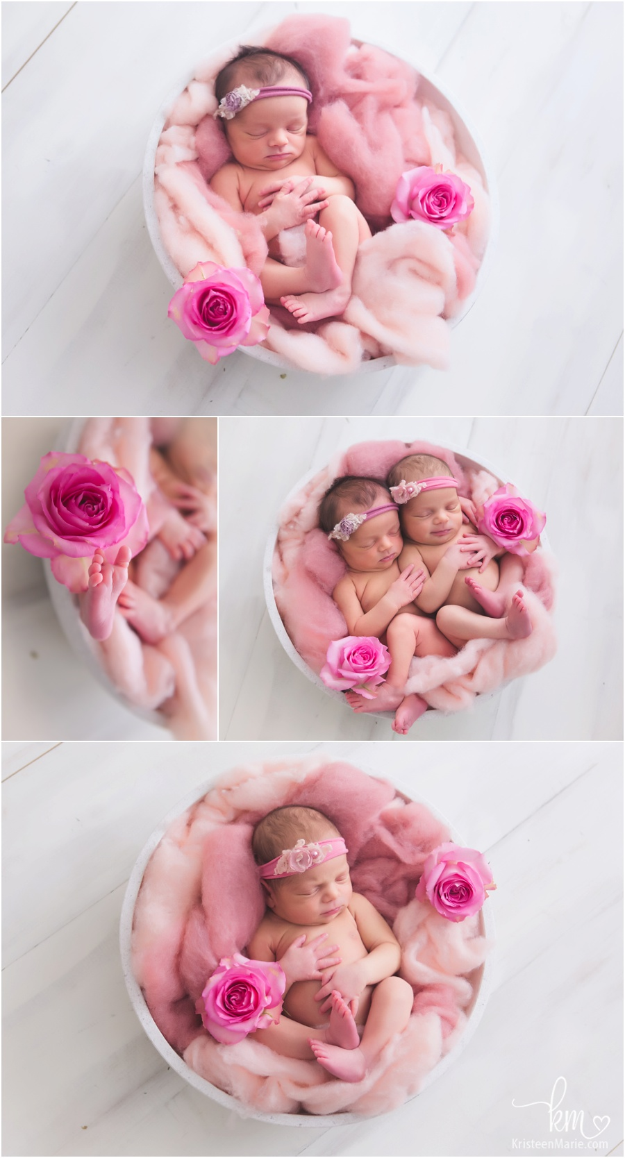 I Am In Love Girl Wallpaper Noblesville Twin Newborn Photographer Twins Leela Amp Saakshi