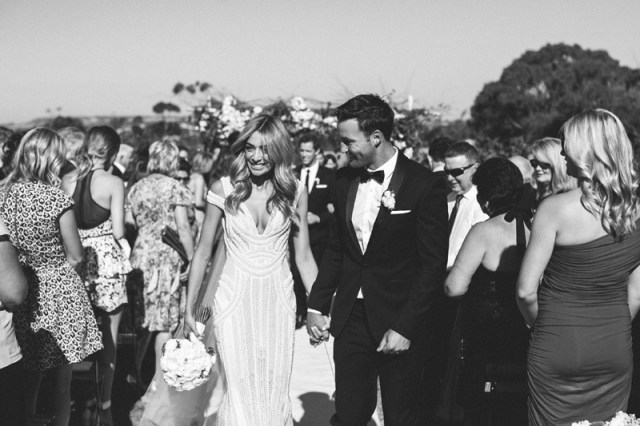 Nadia Coppolino and Jimmy Bartel Wedding