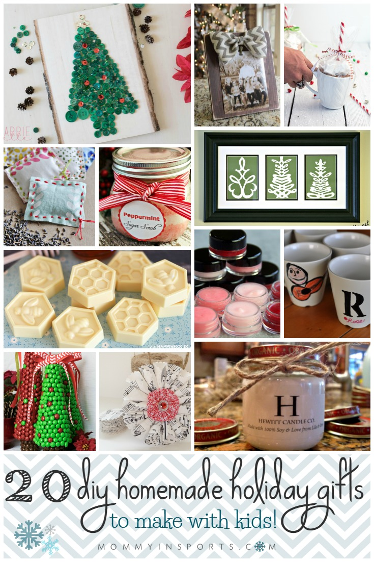 Christmas Homemade Gifts 20 Diy Homemade Holiday Gifts To Make With Kids