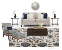 Living Room Inspiration: Neutral Navy - Kristin Maier Home